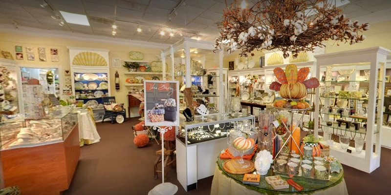A picture of the interior of the store Ocala Traditions.